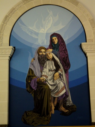 st anne st joachim holy family