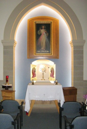 the blessed sacrament tabernacle