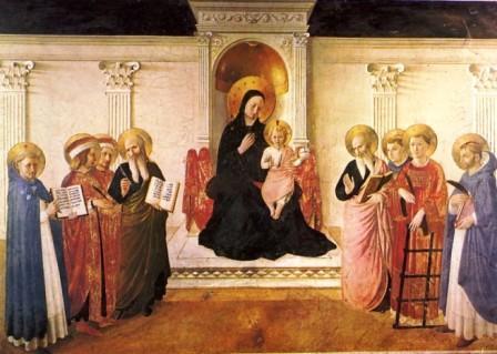 mary and saints prayer