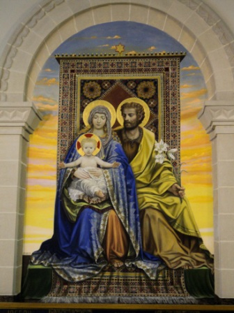 holy family at st anne de beaupre