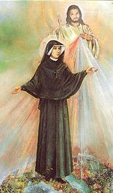 The vision of Sister Faustina