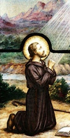 ignatius loyola praying
